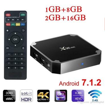 box - Azərbaycan: 7.1 Android Smart box x96 mini model1 gb ram. 8 gb yaddas-55azn2 gb
