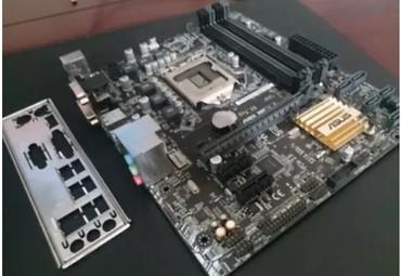 Bakı şəhərində Core i5 6400 + anaplata  asus 1151