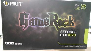 Продаю видеокарты palit geforce gtx 1070  8GB состояние отл. в Токмак