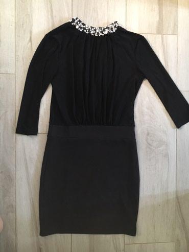 Sabra haljina L velicina, 3/4 rukav, nazad prejlop i zatvorena, cela - Novi Sad