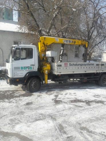 Услуги манупулятор 3т в Бишкек