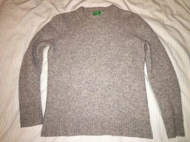 Ženska odeća | Topola: Benetton ženski vuneni džemper, M-S veličina