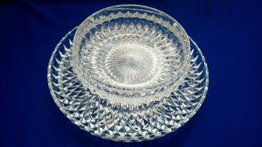 Kućni dekor - Bogatic: Kombinacija dve kristalne cinije