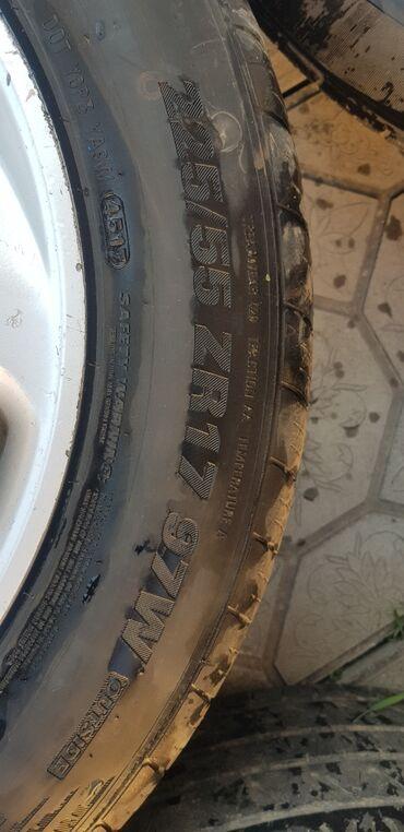 Шины и диски - Бренд: Kumho - Бишкек: R17вместе с резиной прошу за 16000сом!тел