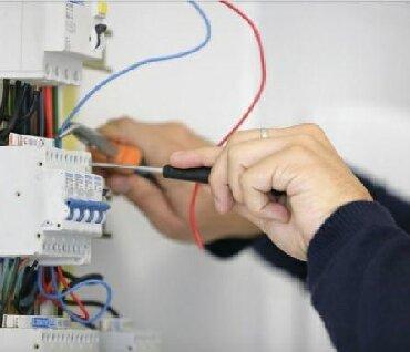 электро монтажная работа в Кыргызстан: Электрика, монтажные работы. электрик,электро-монтаж.Качество Опыт