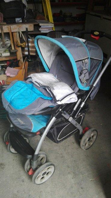 Kolica za bebe, uz njih idu nekorišćen najlon za kišu i dodatak koji i - Futog