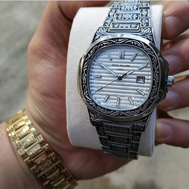 patek philippe baku в Азербайджан: Серебристые Мужские Наручные часы AM:PM