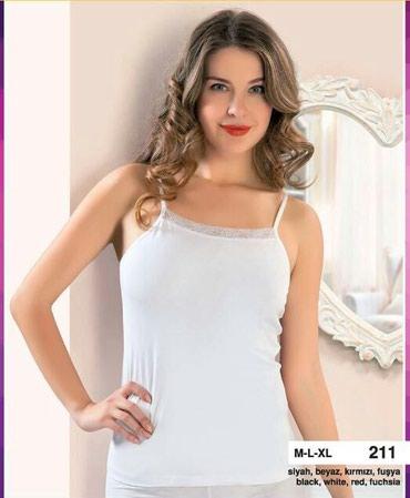 Майка- женскаяразмер : S-M, L-XLЦвет : белый,черный,розовыйсостав: 95%