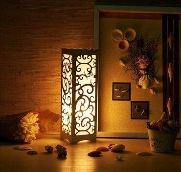 Moderna dekorativna lampa od izdubljene plastikeTip sijalice: E27