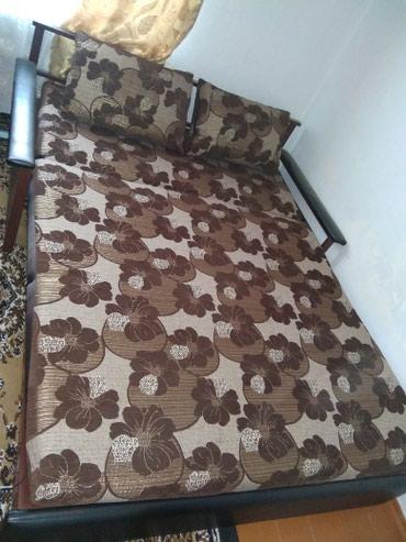 Двух спальняя кровать диван трансформер в Кант