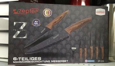 stolovyj nabor zepter na 12 person в Кыргызстан: Ножы Zepter ZP-016 В комплекте 6 ножов