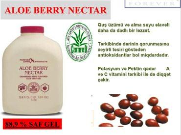 mualice - Azərbaycan: Aloe Berry Nektar - Şirəsi. Mualicevidir. 38 nov xesteliyi mualice