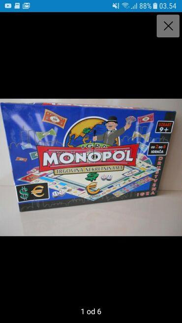Knjige, časopisi, CD i DVD | Nis: Monopol novo  999din. 061/