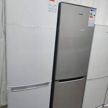 Холодильники в Кыргызстан: Новый Двухкамерный Серебристый холодильник Avest