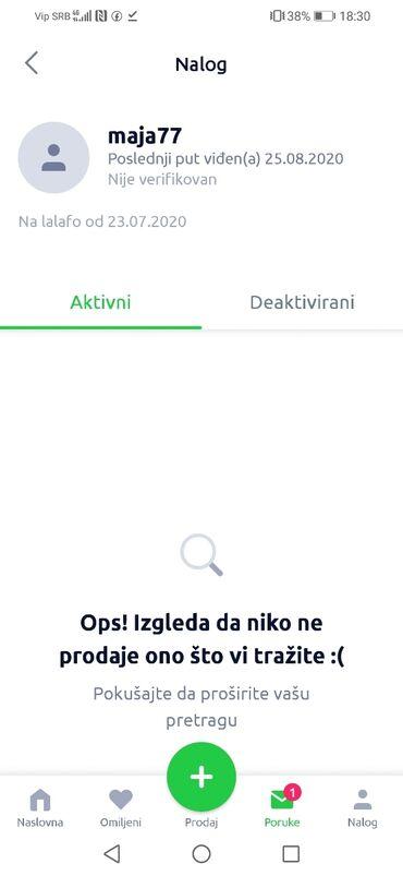 Odeca zenska - Srbija: PAZNJA SVIM PRODAVCIMA, NA OVAJ PROFIL, U PITANJU JE PREVARANT, ZENA