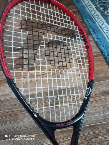 Ракетки - Кыргызстан: Ракетка для большого тенниса. Осталось после учебы в академии тенниса