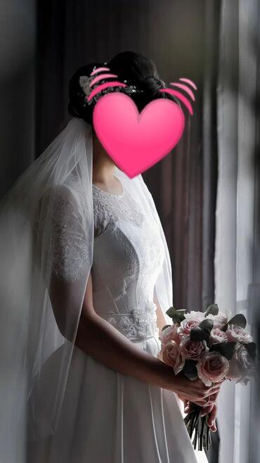 Свадебное Платье! Новое! Фата в подарок!Реальному покупателю уступлю!