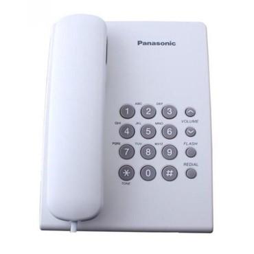 Телефон - Кыргызстан: Телефон Panasonic KX-TS500MXТип связи: аналоговая2-ступенчатый