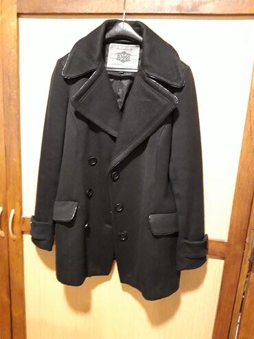 Zimske jakne modeli - Srbija: Crni kaput za jesen/zimu. Vrlo kratko nošen, nema oštećenja. Slikan