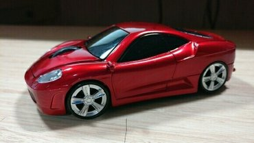 Bežični miš za pc/lap top u obliku Ferrari f 430  automobila u - Beograd