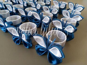 Prstenovi za salvete Leptirici u svim bojama porucite vasu omiljenu