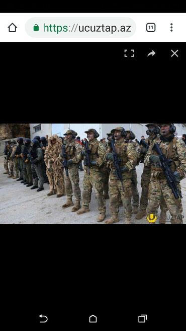Bakı şəhərində Ehtiyyatda olan hərbiçilər digər güc sturukturlarinda işlemiş