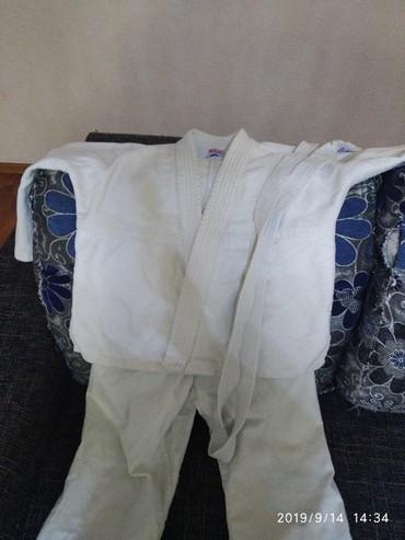 кимоно в Кыргызстан: Кимоно для дзюдо. ростовка 120 см