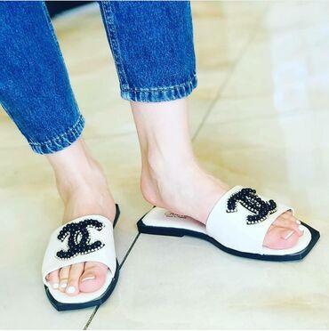 Женская обувь в Джалал-Абад: Акция Тапочки Шанель