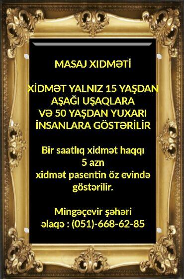 masaj - Azərbaycan: Massaj xidməti Mingəçevir şəhərində