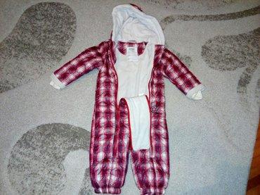 Dečije jakne i kaputi | Zajecar: Deciji skafander, velicina 86, marke kanz, malo nosen u odlicnom