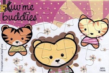 Kinder Luv Me Buddies (2012) PUZZLE - 3/4 - Cacak