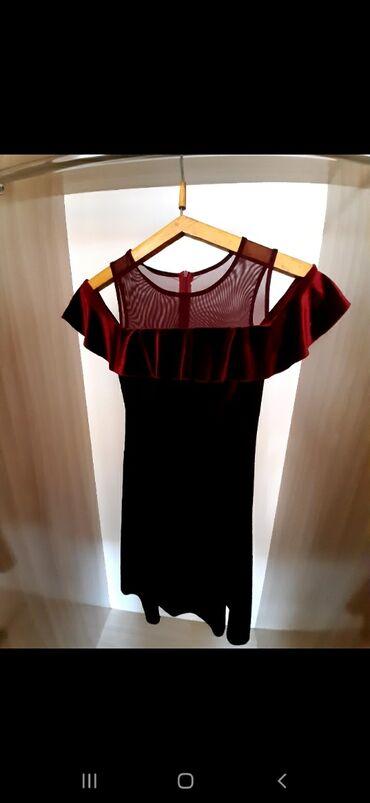 Платья - Джалал-Абад: Отличное платья для вас Вилюр Бордового цвета