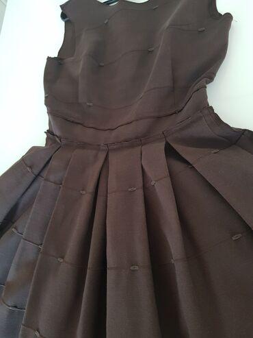 Braon haljina vel.xs