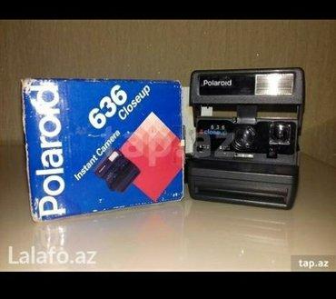 Bakı şəhərində Polaroid 636 super işleyir..
