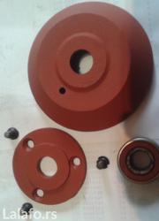 Instrumenti | Nova Pazova: Prodajem 4 komada metalnih točkova sa slike,prečnika fi 100mm širine