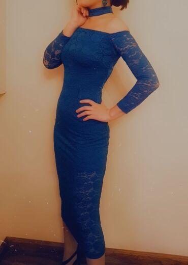 Личные вещи - Кок-Джар: Платье гюпюр бирюзовый цвет