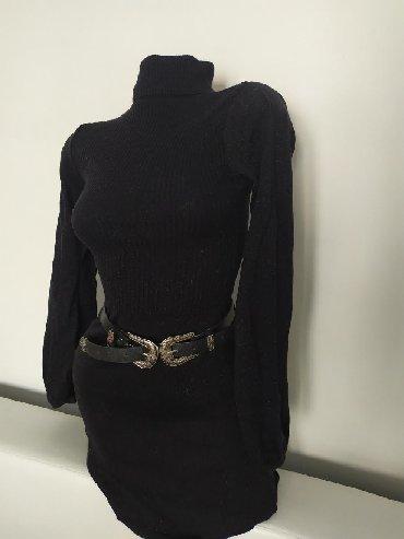 Haljina st - Srbija: St.George koncana haljina, crna sa diskretnim odsjajen,prozeta srmom