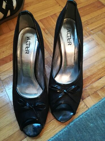 494 oglasa | ŽENSKA OBUĆA: Cipele nisu nosene, broj je 39, gaziste oko 26cm