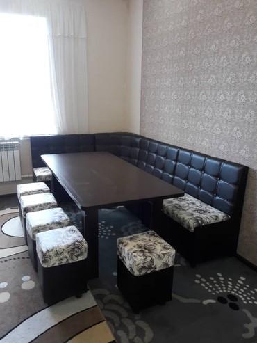 угловая мебель комплект в Кыргызстан: Кухонный уголок KOK JAL Обеденная зона состоит из :- Диван кухонный -