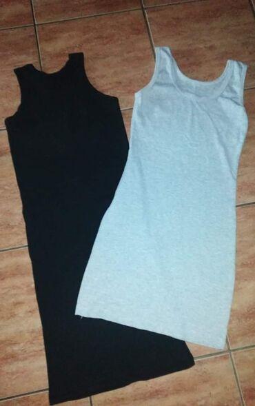 Ženska odeća | Lazarevac: Haljinice rebrasti materijalCrna Nova siva obucena jednomUni