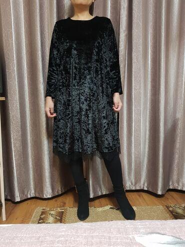 шикарное вечерние платье в Кыргызстан: Продаю шикарное вечернее платье, размер 38 Турция, цена 2500
