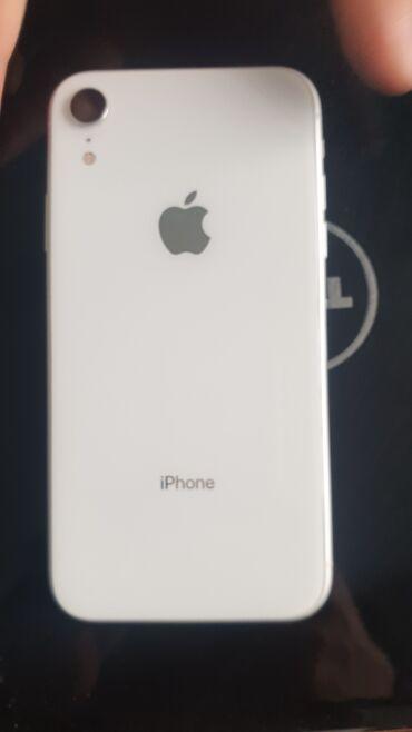 iphone бу цена в Кыргызстан: Б/У iPhone Xr 64 ГБ Белый