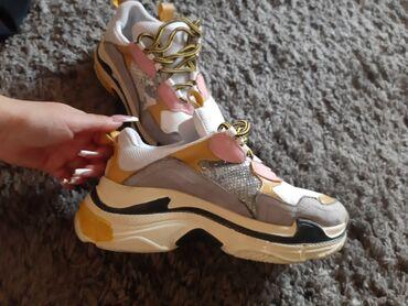 Ženska patike i atletske cipele   Backa Palanka: Patike kao balenciaga
