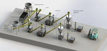 Оборудование производства сухих в Бишкек