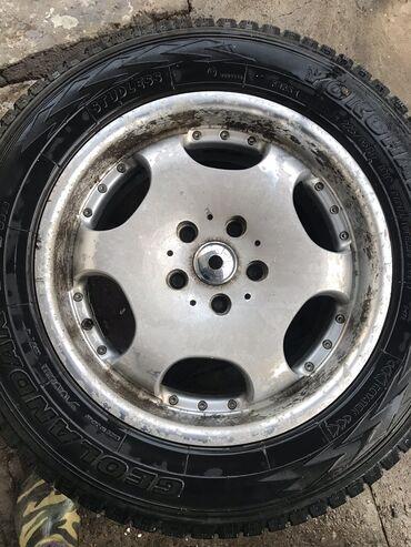 полимерная покраска бишкек в Кыргызстан: R17 225/65, 17X7J разболтовка,резина 50%,диски не кривые не варенные,е