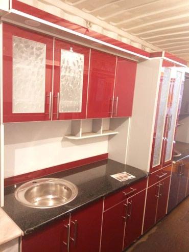 доставка кухонной мебели в Кыргызстан: Кухонный гарнитур 2-метр 17000сом с доставкой