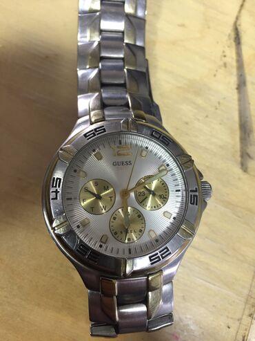 купить часы в бишкеке in Кыргызстан | АВТОЗАПЧАСТИ: Продаю Часы GUESS steel 3-4 года назад купил в Японии