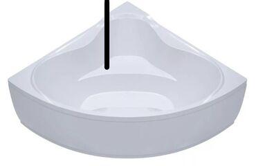 Ванна обрезанная Троя ЭКСТРА (1500х1500) в комплекте с каркасом и экра