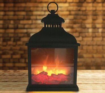 фонтан продажа в Кыргызстан: Электро фонарь led fireplace Хит продаж  Купи и получи скидку 🥰 Это у