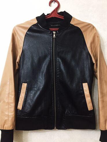 зимние куртки женские бишкек в Кыргызстан: Продаю женскую кож куртку в хорошем состоянии. Сидит очень круто